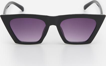 Czarne okulary damskie House