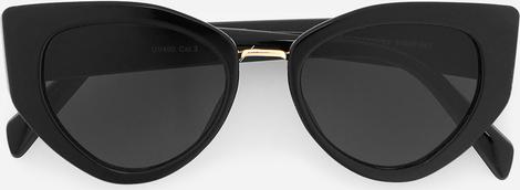 Czarne okulary damskie Reserved