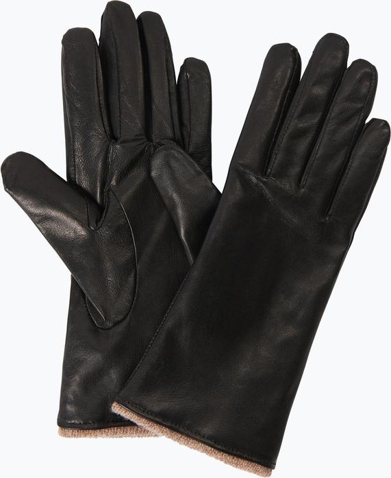 Czarne rękawiczki Melkonian