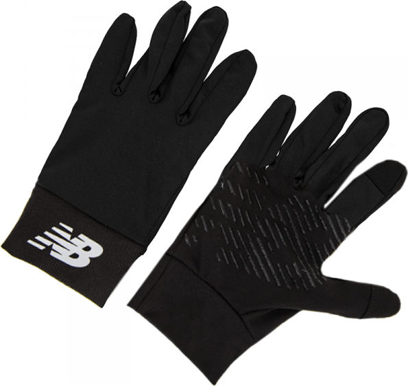Czarne rękawiczki New Balance