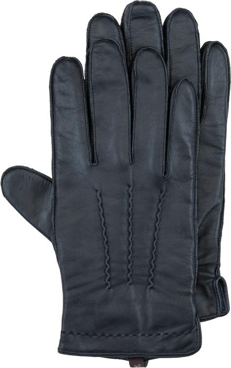 Czarne rękawiczki Pearlwood