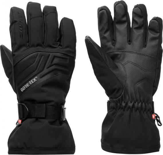 Czarne rękawiczki Ziener