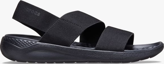 Czarne sandały Crocs w stylu casual