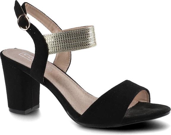 Czarne sandały Filippo