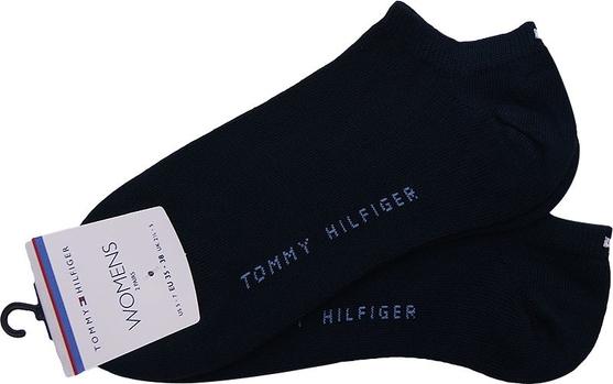 Czarne skarpetki Tommy Hilfiger w stylu casual