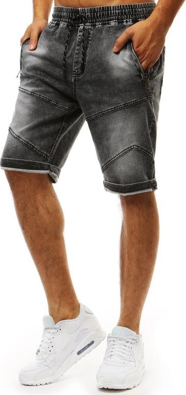 Czarne spodenki Dstreet z jeansu