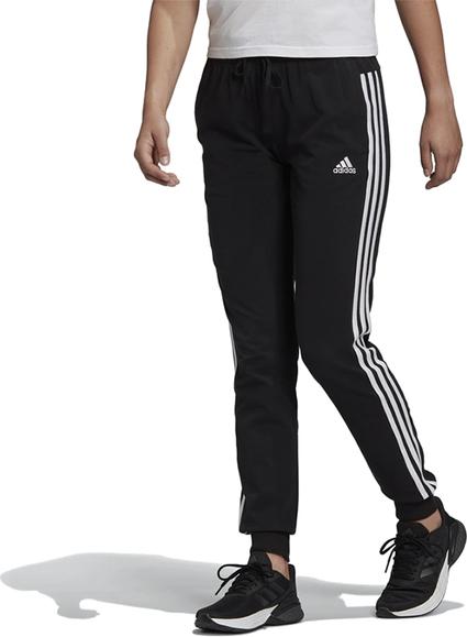 Czarne spodnie Adidas z bawełny