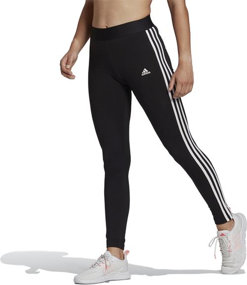 Czarne spodnie Adidas z bawełny w sportowym stylu