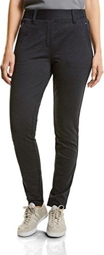 Czarne spodnie amazon.de w stylu casual