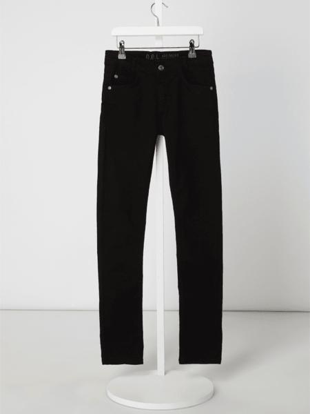 Czarne spodnie dziecięce G.o.l. z jeansu