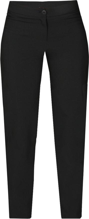 Czarne spodnie Fokus w stylu klasycznym