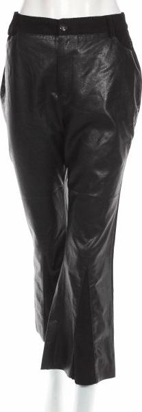 Czarne spodnie Nasty Gal w rockowym stylu