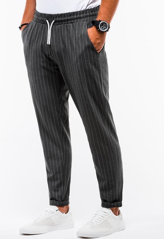 Czarne spodnie Ombre_Premium