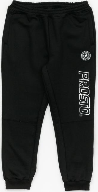 Czarne spodnie Prosto. z bawełny