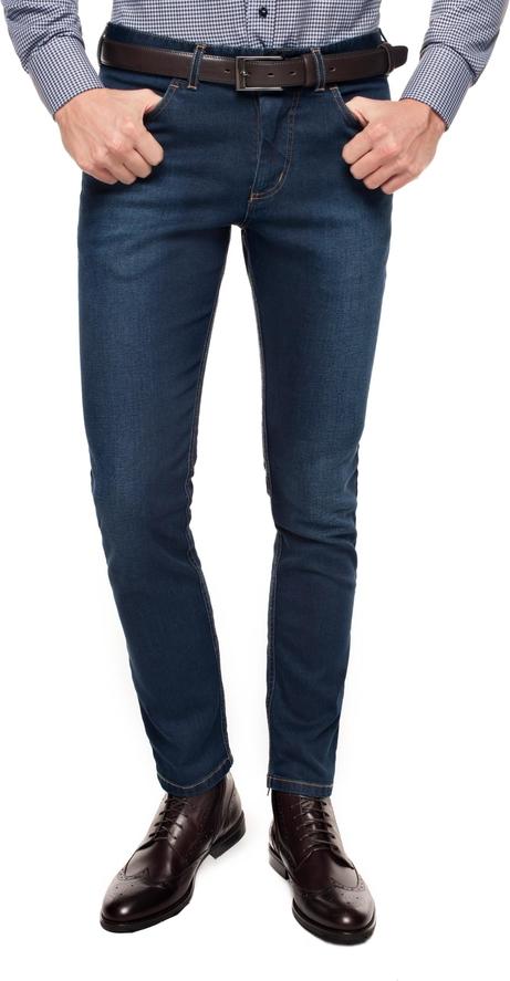 Czarne spodnie recman bez wzorów