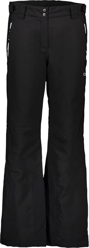Czarne spodnie sportowe CMP z tkaniny