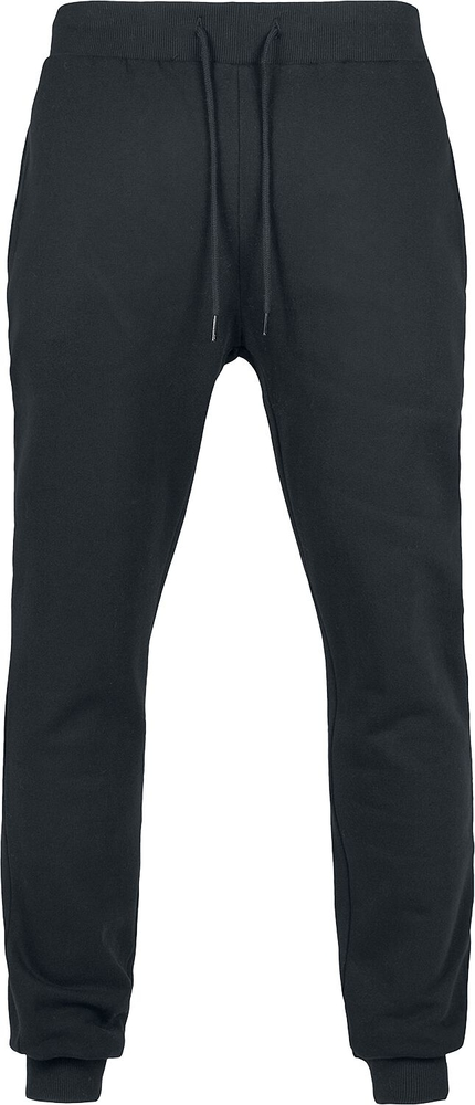 Czarne spodnie sportowe Emp z dresówki