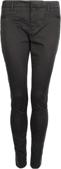 Czarne spodnie Tommy Hilfiger z tkaniny