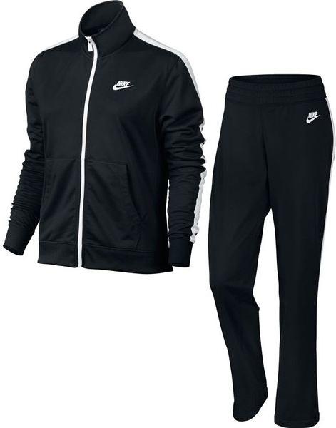 Czarny dres Nike w sportowym stylu