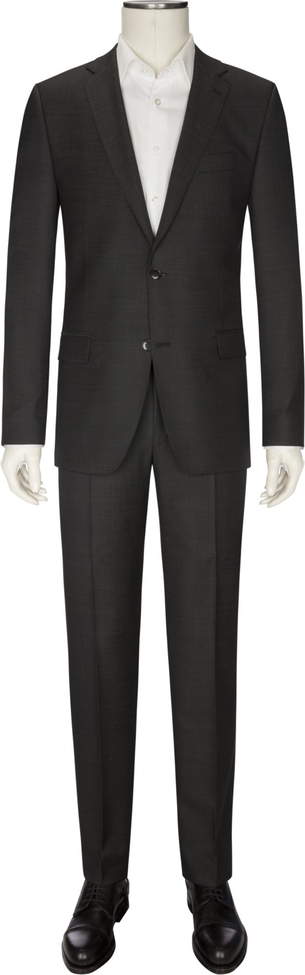 Czarny garnitur Digel z wełny