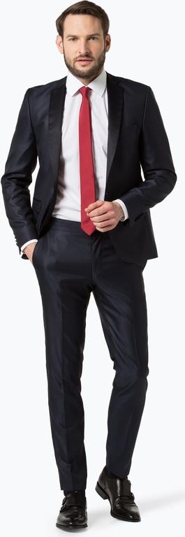 Czarny garnitur finshley & harding