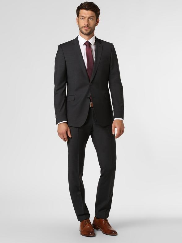 Czarny garnitur Strellson