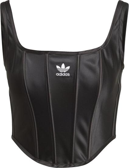 Czarny gorset Adidas