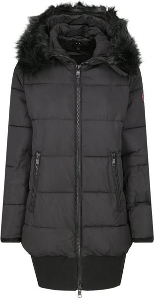 Czarny płaszcz Armani Jeans