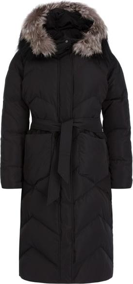 Czarny płaszcz Marella Sport w stylu casual
