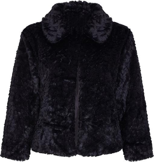 Czarny płaszcz Mela London
