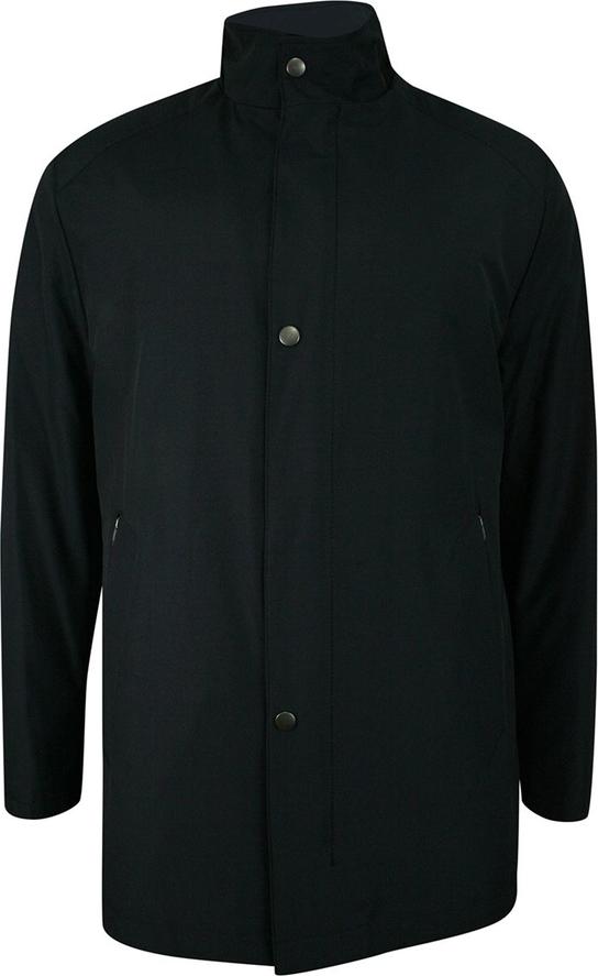 Czarny płaszcz męski Zanardi Trade