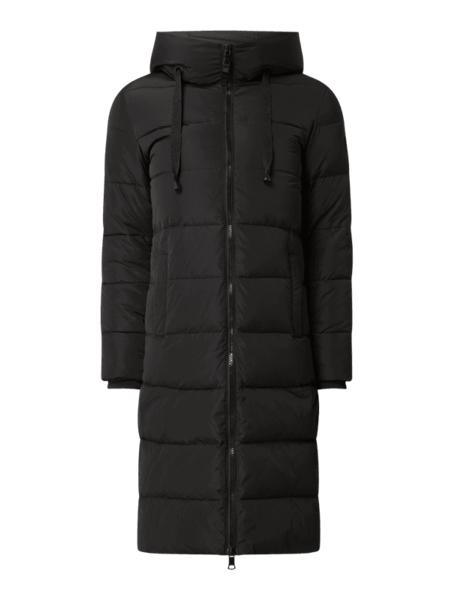 Czarny płaszcz Mos Mosh w stylu casual