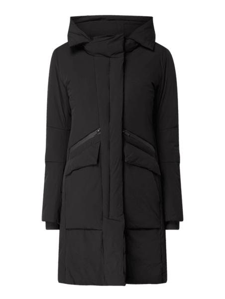 Czarny płaszcz Review w stylu casual