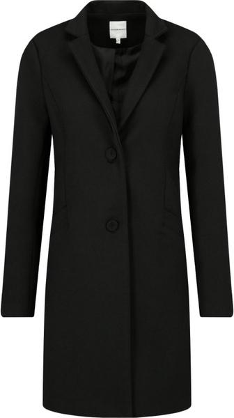 Czarny płaszcz Silvian Heach
