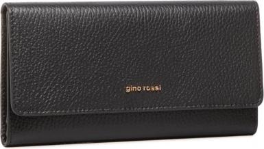 Czarny portfel Gino Rossi