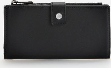Czarny portfel Reserved