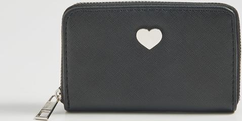Czarny portfel Sinsay