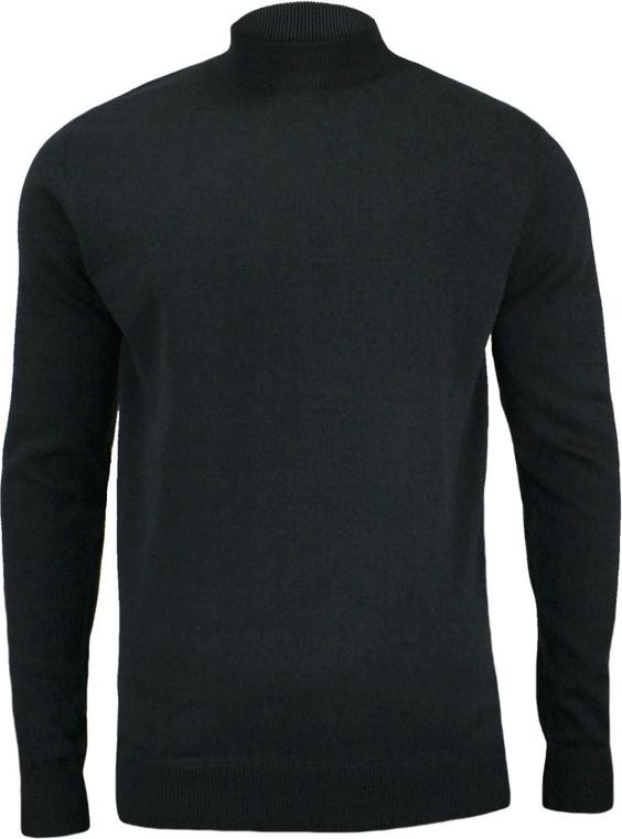 Czarny sweter Brave Soul z bawełny