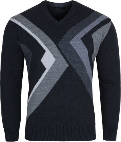 Czarny sweter Devir