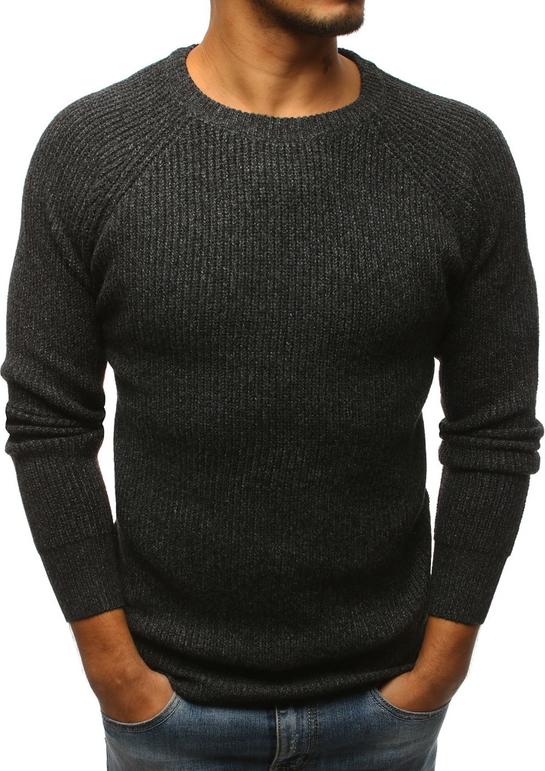 Czarny sweter Dstreet