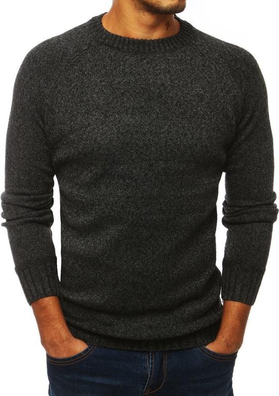 Czarny sweter Dstreet z wełny