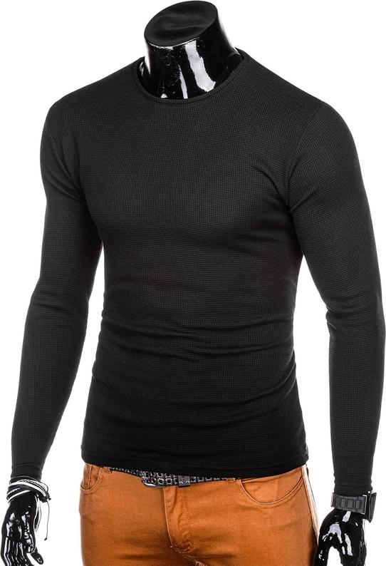 Czarny sweter Edoti
