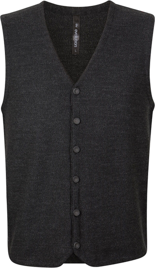 Czarny sweter Evolution z bawełny