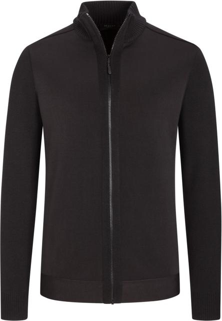 Czarny sweter Maerz z bawełny