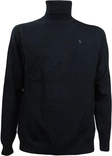 Czarny sweter Refrigue