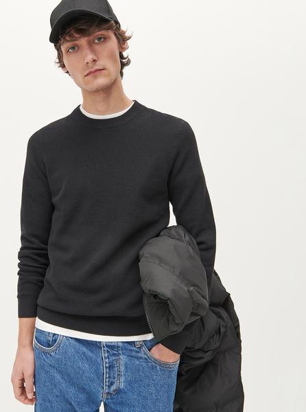 Czarny sweter Reserved