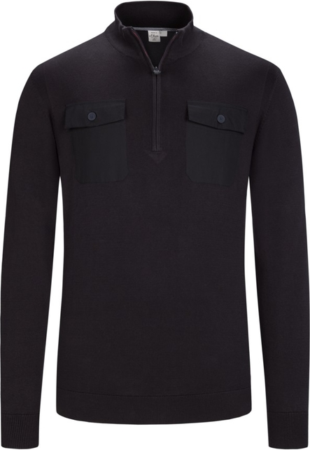Czarny sweter S.Oliver