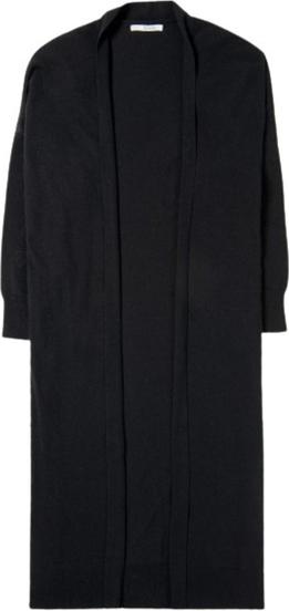Czarny sweter Sibin/linnebjerg w stylu casual z kaszmiru