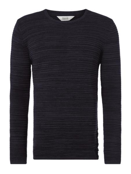 Czarny sweter Solid z bawełny