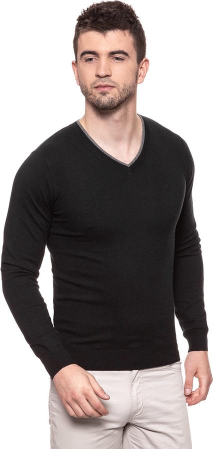 Czarny sweter Wrangler